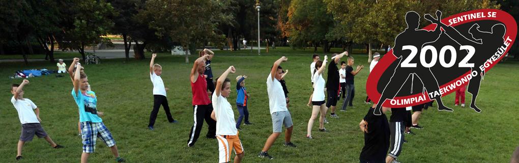 Nyáron szabadtéren folytatódnak az edzések, felkészülést biztosítva az edző tábor fokozott intenzív fizikai igénybevételeire.